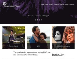 vespertinefilms.com screenshot