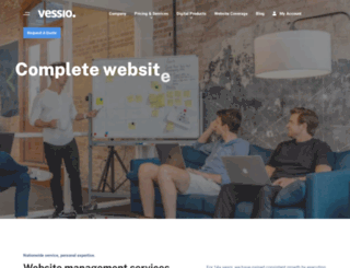 vessio.com screenshot