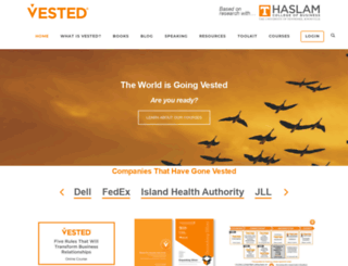 vestedway.com screenshot