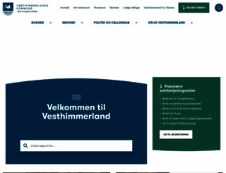 vesthimmerland.dk screenshot