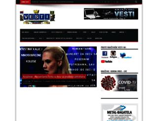 vesti.knjazevac.org.rs screenshot
