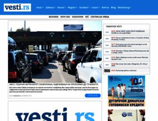 vesti.rs screenshot