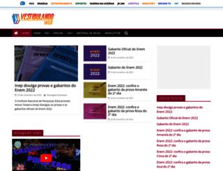 vestibulandoweb.com.br screenshot
