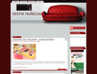 vestir-munecas.blogspot.mx screenshot