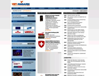 vet-magazin.com screenshot