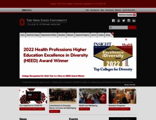 vet.osu.edu screenshot