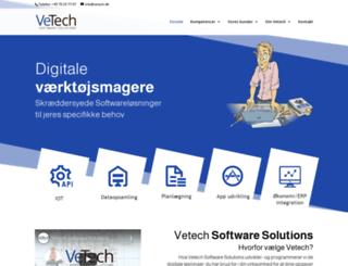 vetech.dk screenshot