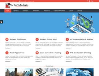 vetechnologies.org screenshot