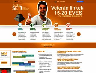 veteranlink.hu screenshot