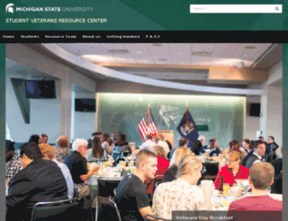 veterans.vps.msu.edu screenshot