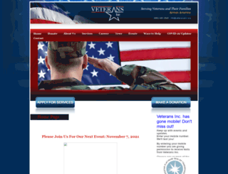 veteransinc.org screenshot