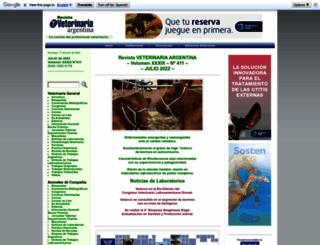 veterinariargentina.com screenshot