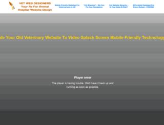 veterinarywebsitedesigners.com screenshot