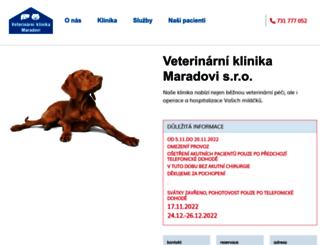 vetmar.cz screenshot