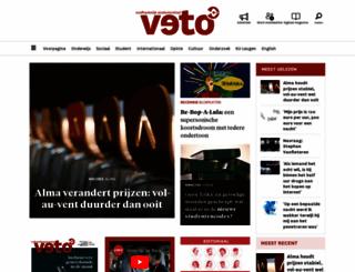 veto.be screenshot