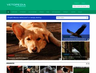 vetopedia.pl screenshot
