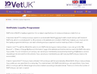 vetpoints.co.uk screenshot