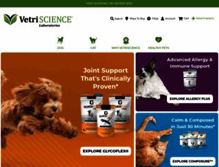 vetriscience.com screenshot
