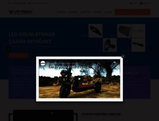 vetron.com.tr screenshot