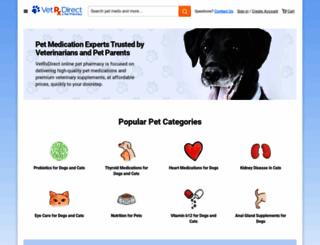 vetrxdirect.com screenshot