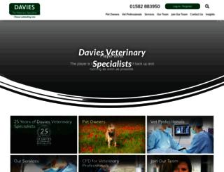 vetspecialists.co.uk screenshot