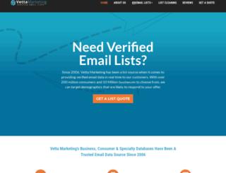 vettamarketing.com screenshot