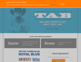 vettec.com screenshot