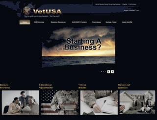 vetusa.com screenshot