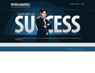 vevekgahatraj.com screenshot