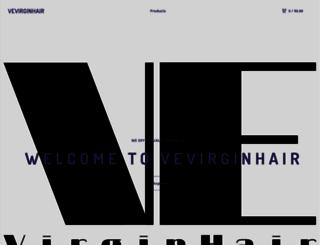 vevirginhair.bigcartel.com screenshot