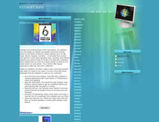 vevsoft.ucoz.com screenshot