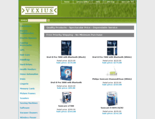 vexius.com screenshot