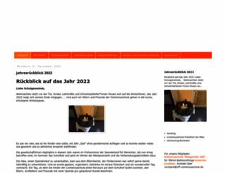 vff-comeniusschule.de screenshot