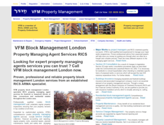 vfmproperty.com screenshot