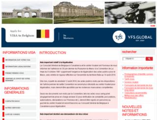 vfs-be-ma.com screenshot
