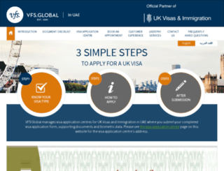vfs-uk-ae.com screenshot