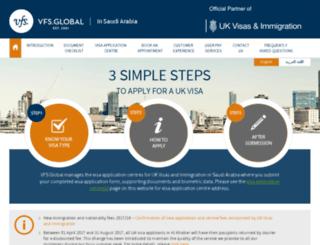 vfs-uk-sa.com screenshot