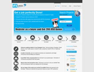 vfxlancer.com screenshot