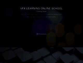 vfxlearning.pivotshare.com screenshot