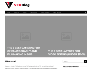 vfxpro.com screenshot