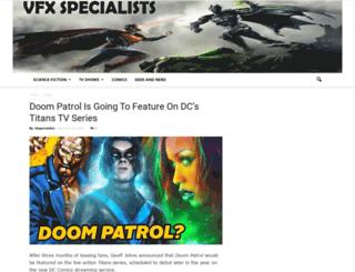 vfxspecialists.com screenshot