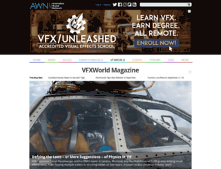 vfxworld.com screenshot