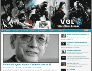 vglounge.com screenshot