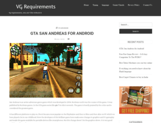 vgrequirements.info screenshot