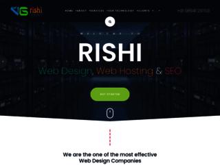 vgrishiinfotech.com screenshot