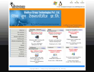vgtechnologies.com screenshot