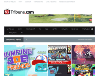 vgtribune.com screenshot