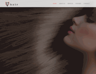 vhair.com.au screenshot