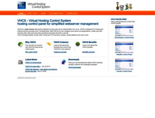 vhcs.net screenshot