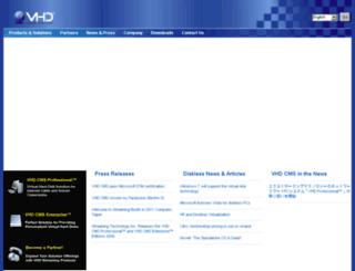vhdsoft.com screenshot